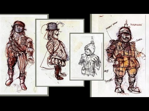 Costumes and Sets of Time Bandits