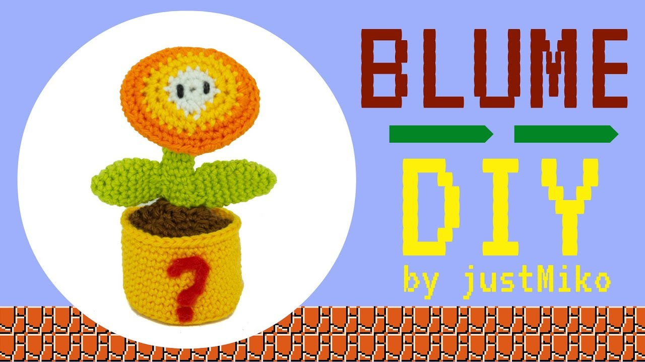 Super Mario Blume Häkeln Do It Yourself Amigurumi Youtube