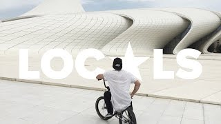 GoPro BMX: Саша Никулин и Ирек Ризаев на безумном стрит споте в Баку
