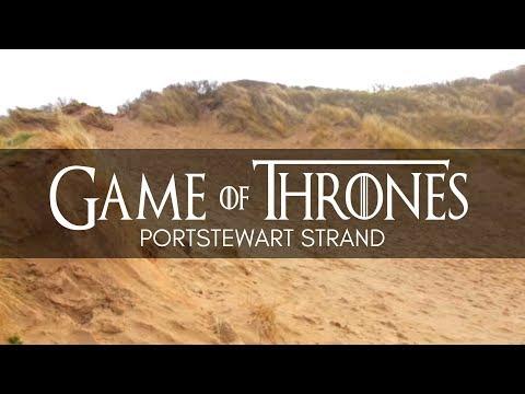 Game Of Thrones Filming Location - Portstewart Strand, Portrush, Northern Ireland - NI - GOT