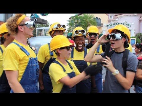 Character Chat: Universal Studios