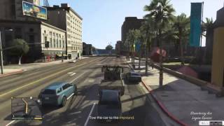 GTA V EARLY Gameplay Leaked Mission GTA 5 REAL [HD]