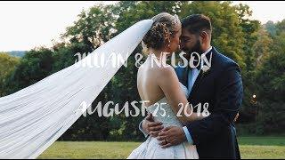 Jillian & Nelson | Oatlands Historic House & Gardens | Virginia Wedding Video