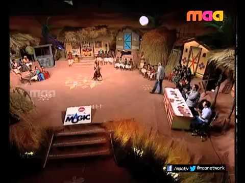 Udaya Bhanu Sings Telangana Song in Rela Re Rela 5 360p)