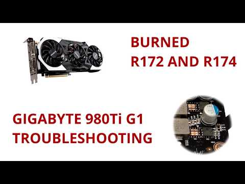 GTX 980 Ti died | GIGABYTE USA Forum