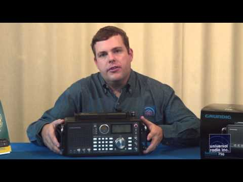 Universal Radio discusses the Grundig Satellite 750 Portable Radio
