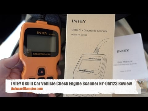 INTEY OBD II Car Vehicle Check Engine Scanner NY-OM123 Review