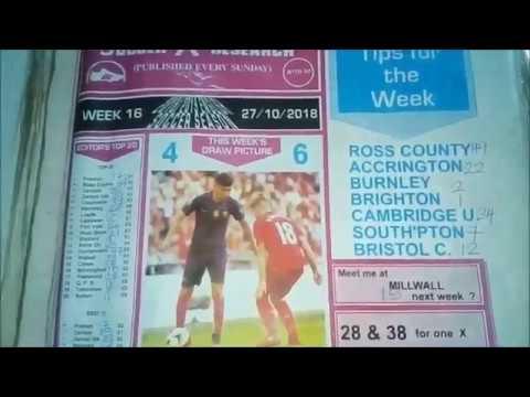 Week 16 Soccer Research Pool Paper Banker