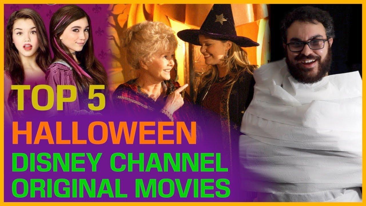 top 5 disney channel original movies: halloween edition - youtube