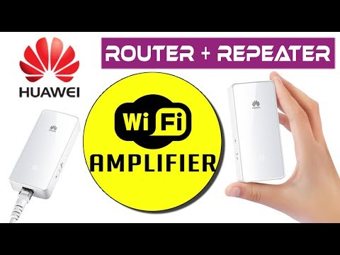 Huawei WS331a WiFi Router + Repeater   Plug & Play   300Mbps   Unboxing, Setup & Review in Bangla