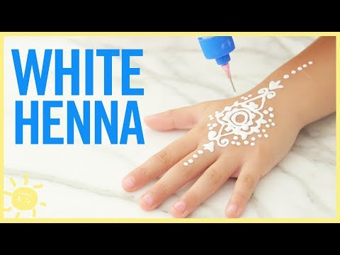 STYLE & BEAUTY   DIY White Henna