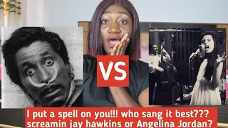 Screaming Jay Hawkins VS Angelina Jordan | I Put A Spell On Your Reaction | Chitime