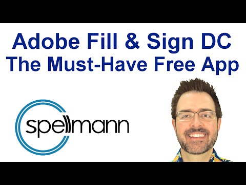 Adobe Fill and Sign DC - The Must-Have Free App - YouTube