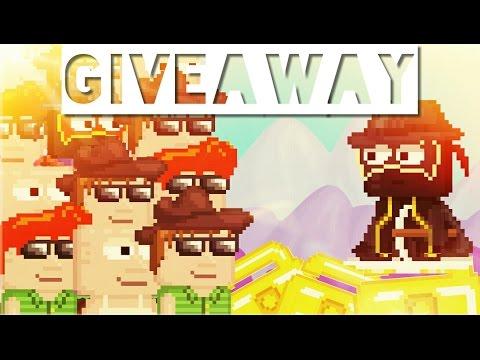 Growtopia giveaway [Start on YouTube]