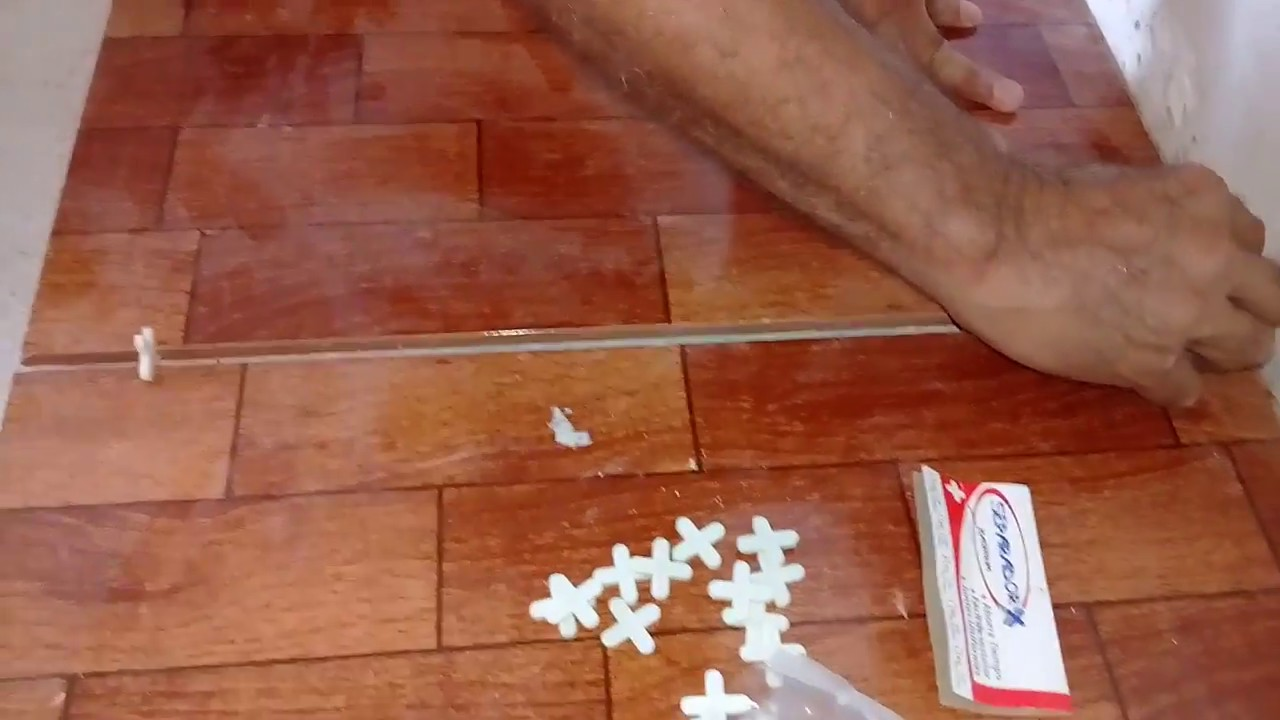 Como colocar vitropiso loseta cermica1ra parte   YouTube