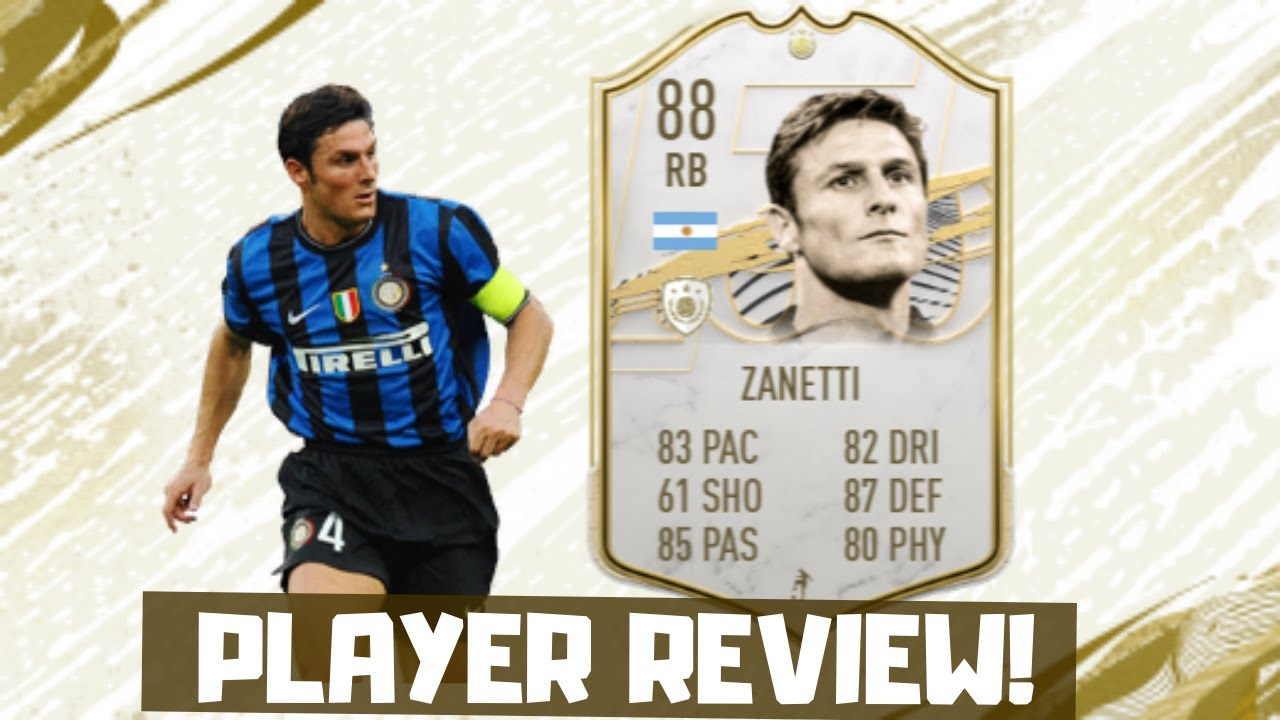 EL TRACTOR! 🚜 JAVIER ZANETTI Player Review W/ Gameplay! (FIFA 21 - Ultimate Team)