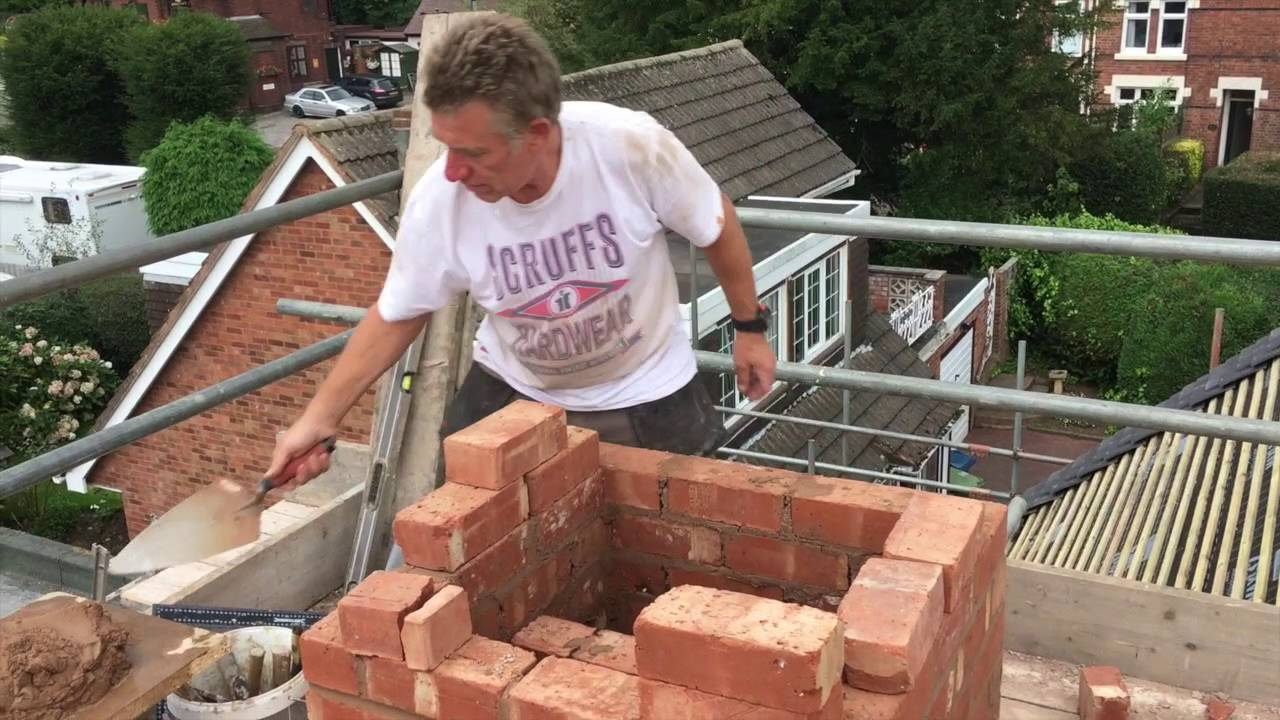 How to re build a chimney part 1 youtube - Make a house a home ...