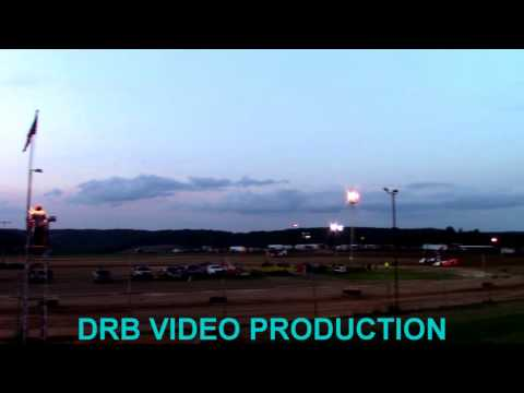 Marion Center Speedway 8/26/17 Super Late Model Heat 1 OF 2