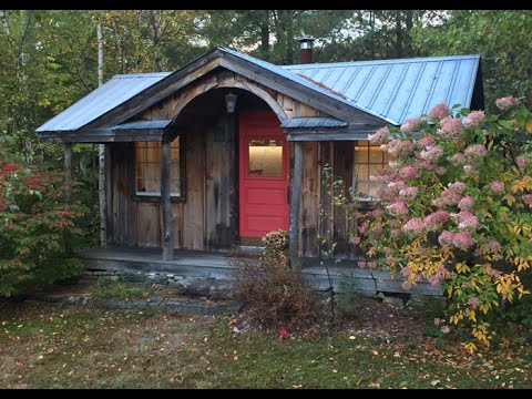 Vermont Tiny House 14x30 Gibraltar Post and Beam Board and Batten