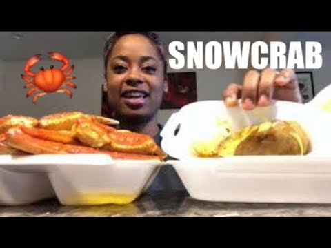 SNOW CRAB, CORN, & POTATOE | EATING SHOW | MUKBANG | MEOKBANG|먹광 먹는 쇼 | EATING SHOW