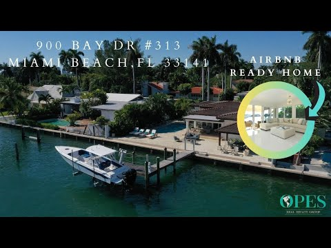Updated Waterfront Home in North Bay Village