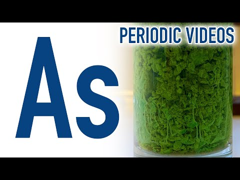 Arsenic (new) - Periodic Table of Videos