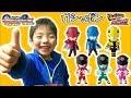 ルパンレンジャーVSパトレンジャー スイング ガシャポン☆Lupinranger VS Patoranger Gashapon Toys☆モモちゃんねる☆☆