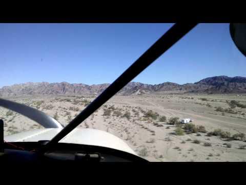 San Diego prospector flies into camp
