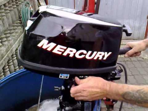 Mercury 6 hp outboard motor 2007r four stroke 4 suw for Mercury 4 hp boat motor