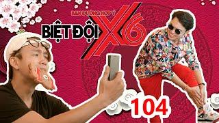BIỆT ĐỘI X6 | BDX6 #104 | Bảo Kun - Hứa Minh Đạt - Quang Bảo 'thốn tận rốn' vì bị mất LÔNG CHÂN 😨