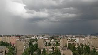 Облака над Бишкеком