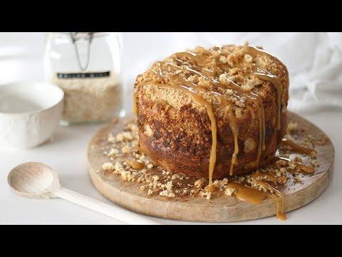 Easy Apple Crumble Bread   Bread Maker Recipe