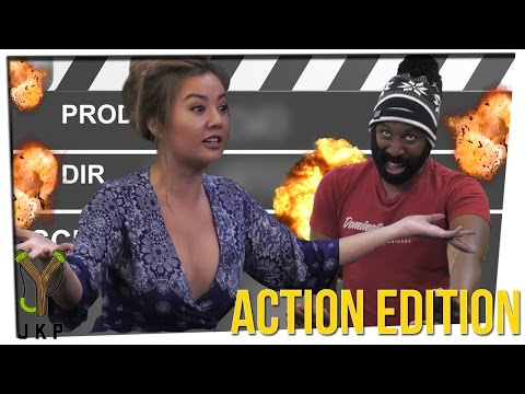 Ten Second Movies: Action Edition!!! Ft. Gina Darling