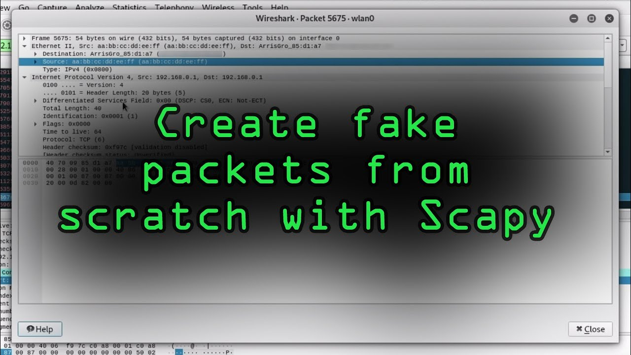 Create Packets from Scratch with Scapy [Tutorial]