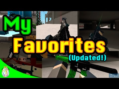 Roblox Phantom Forces - My Favorites (UPDATED)
