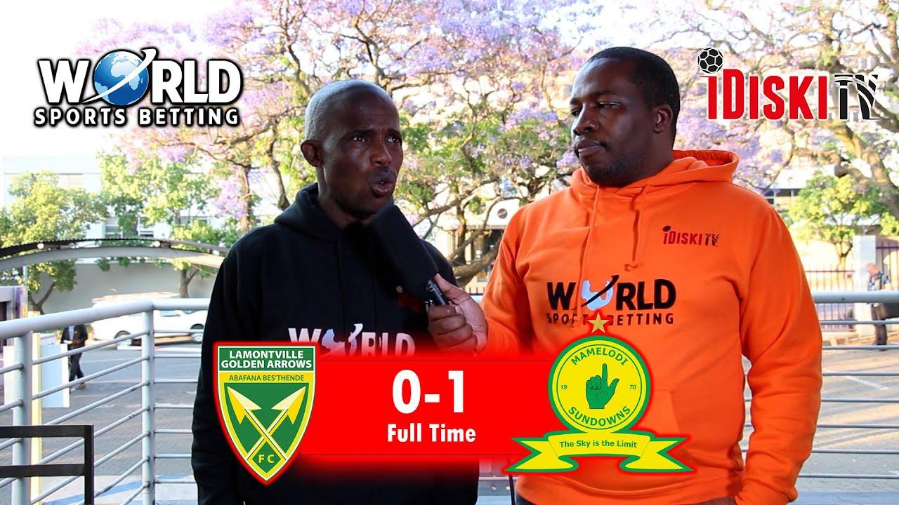 Download Golden Arrows 0-1 Mamelodi Sundowns   Sundowns Were Poor Today   Junior Khanye