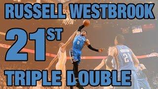 Westbrook Posts Triple Double #21   01.18.17