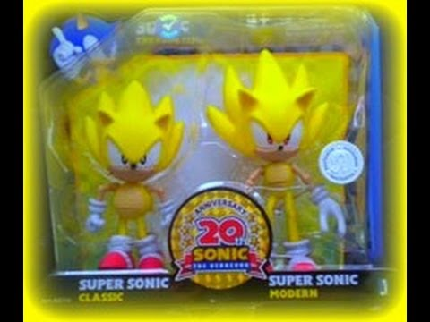 Super Sonic 20th Anniversary Figure Review