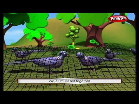 Union is Strength   3D Panchatantra Tales in English   3D Moral Stories For Kids