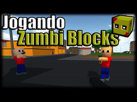 Jogando Zumbi Blocks - Loucura Bugada