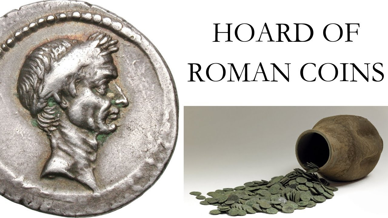Ancient Roman Coins of Julius Caesar Discovered?