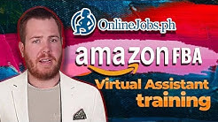 Onlinejobs.ph Amazon FBA Virtual Assistant Training Course