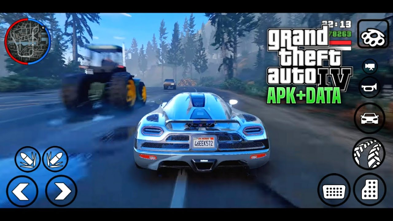 Modpack Graphics GTA IV APK+DATA Full Modified GTA San Andreas Android 2020
