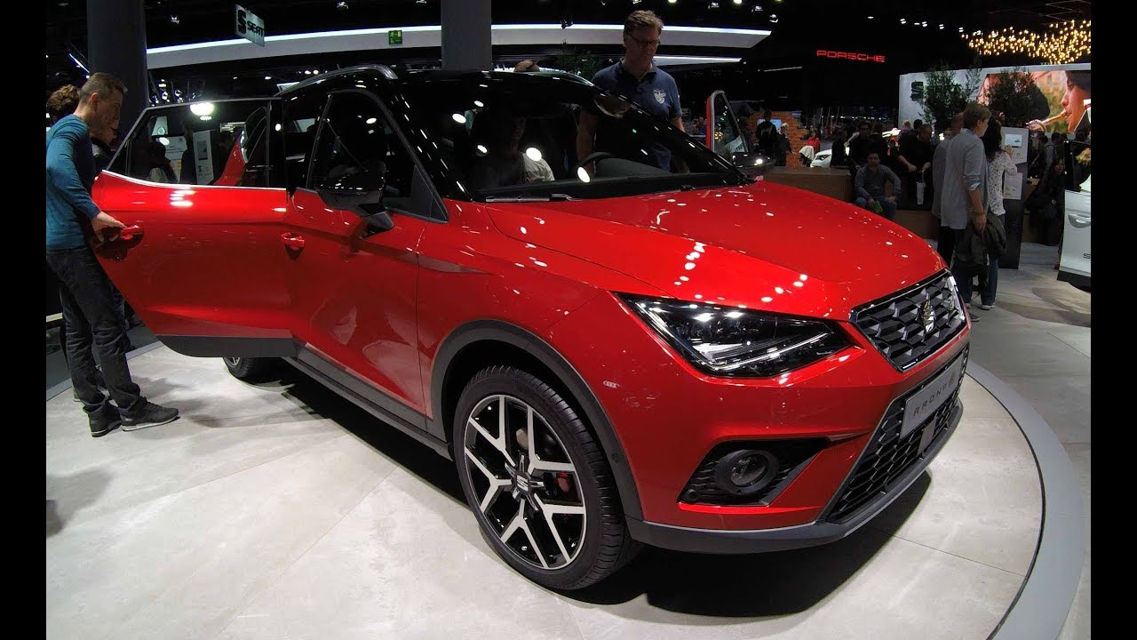 seat arona fr line new model 2017 walkaround interior desire red city crossover suv. Black Bedroom Furniture Sets. Home Design Ideas