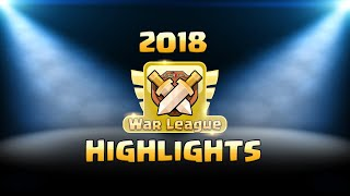 Clash Clan War Leagues - Last Second Wins (Clash of Clans TH12 War Attacks)