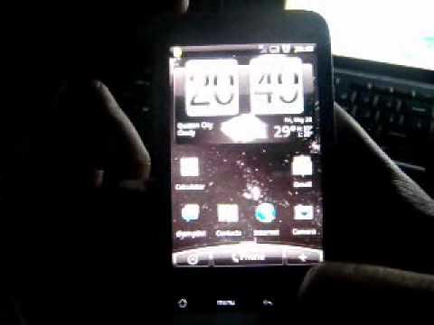 Rooted HTC Legend-Custom Rom Eye Candies Demo