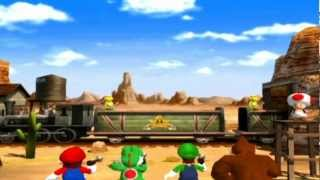 Mario Party 4 Mini Games - Toad
