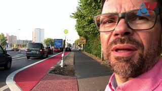 Radwegswahnsinn in Dietzenbach