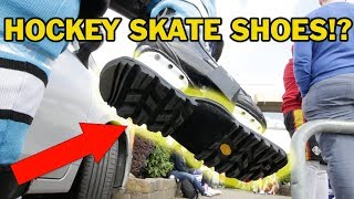 Hockey skate shoes !? Skaboots Review