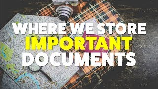Tuesday Talk Storing Important Documents While Full Time RVing